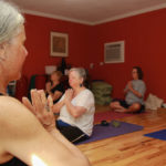 Yoga class at Sunrise Yoga Studio