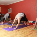 Yoga class at Sunrise Yoga Studio